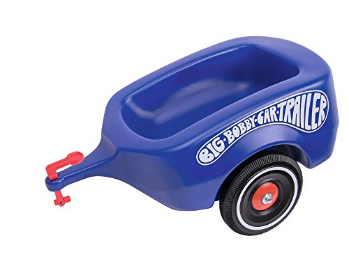 BIG Bobby-Car Trailer Royalblau