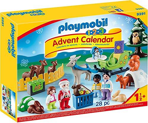 """Playmobil 1.2.3 Adventskalender """"Waldweihnacht der Tiere"""""""