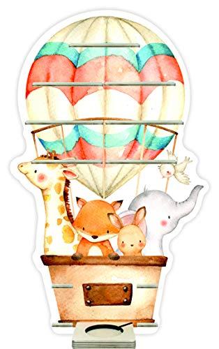 Farbklecks Collection Musikboxregal Heissluftballonfamilie