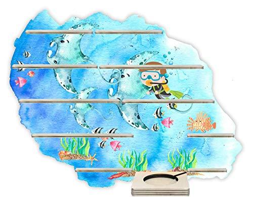 Farbklecks Collection Musikboxregal Unterwasserwelt