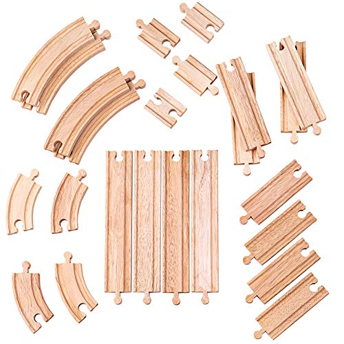 Bigjigs Rail Kurven und Geraden Set