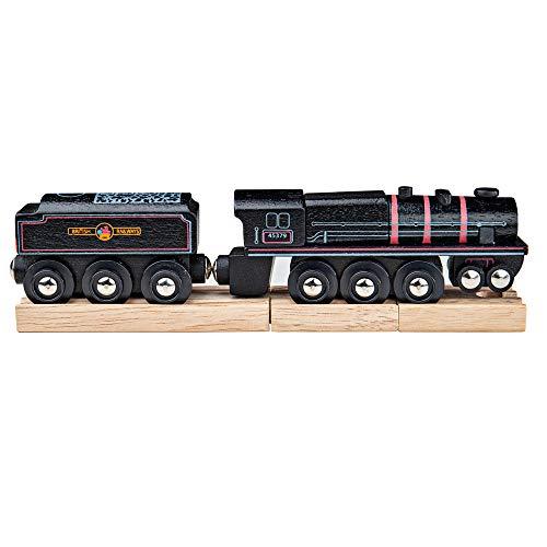 Bigjigs Lokomotive 5, Schwarz