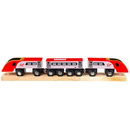 Bigjigs Rail Anhänger Treni Virgin