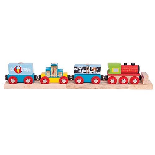 Bigjigs Rail Güterzug auf 2 Schienen