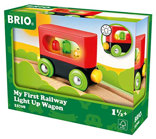 BRIO World - Mein erster Waggon mit Licht