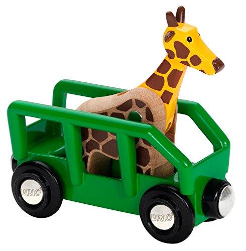 BRIO World - Giraffenwagen