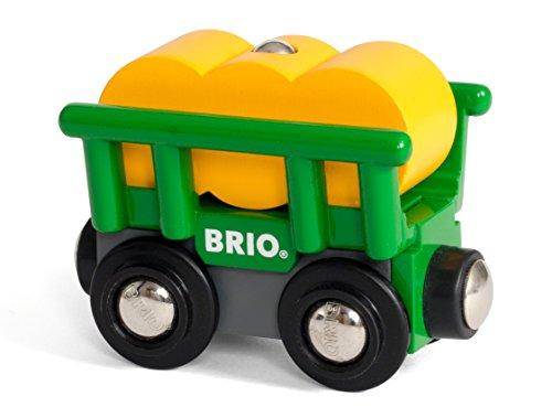 BRIO World - Heuwagen mit Kippfunktion