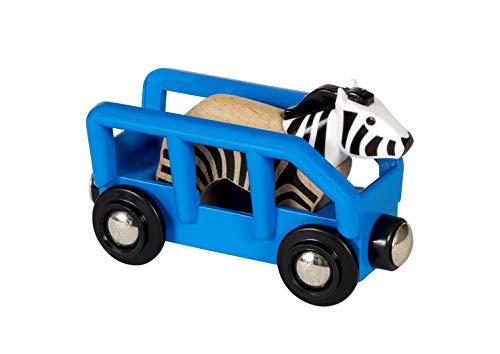 BRIO -Tierwaggon Zebra