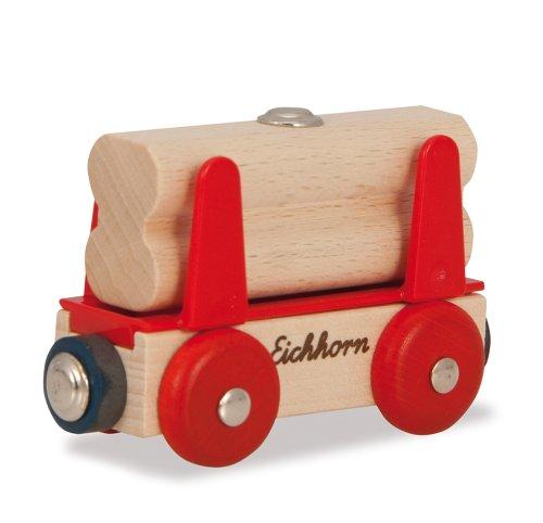 Eichhorn - Wagon mit Holzladegut