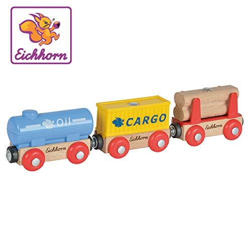 Eichhorn - 3 Wagons und Ladegut