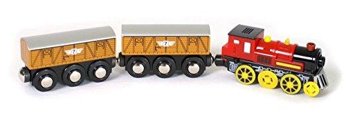 """small foot """"Lokomotive elektrisch"""" mit zwei Waggons"""