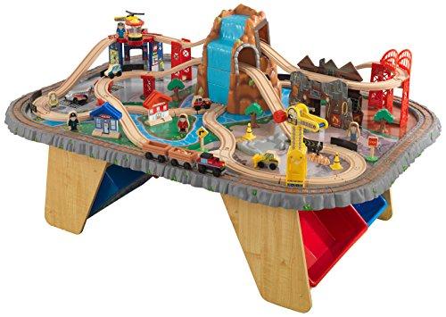 KidKraft Eisenbahnset und Spieltisch Waterfall Junction