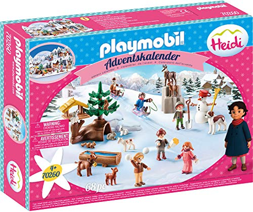 Playmobil Adventskalender Heidis Winterwelt