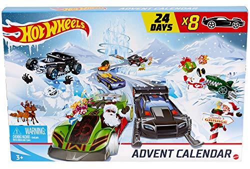 Hot-Wheels Adventskalender 2020