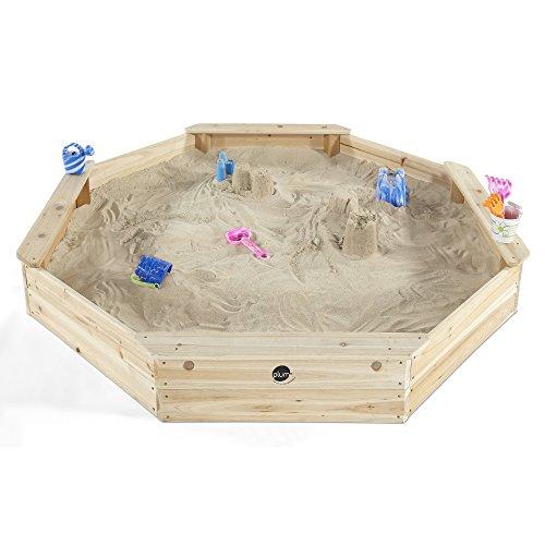 Plum Kinder gigantischer Sandkasten achteckig mit 4 Sitzbänken