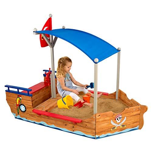 KidKraft Piratenschiff-Sandkasten aus Holz