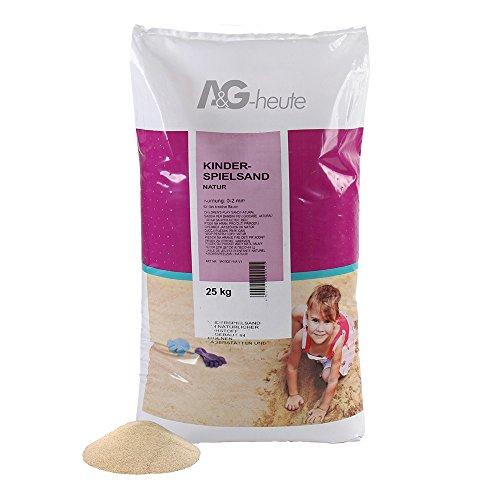 A&G-heute 25kg Spielsand geprüft