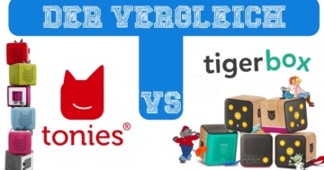 Die Toniebox oder die Tigerbox?